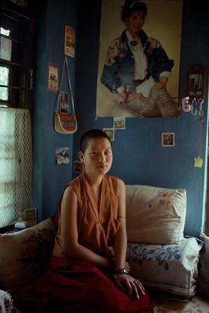 Young Aani. Tibet.