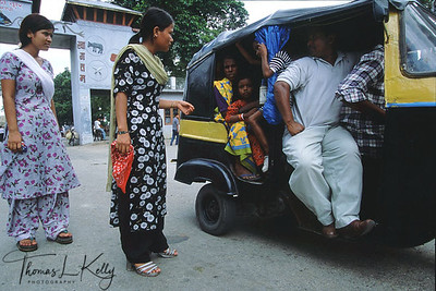 "Nepalese girls sex worker who have been rescued by ""Maiti Nepal"" (The word Maiti signifies the natal home of girls.) have chosen to be employed with police at the check post between Nepal-India border, helping to identify alleged traffickers of young Nepalese girls. Nepal-India border, Nepal."