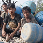 Due to born to poor parents, these kids are apparently denied to go to school and are bound to follow their parents profession of crushing gravels to suppliment the family income. Young tha ...