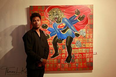 Artist Manish Harijan.