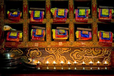 Chiwong Monastery. Solu Khumbu, Nepal.