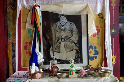 Sangye Lama, founded Chiwong Monastery in 1923. He was a wealthy Sherpa from Solu, who endowed the monastery with a large portion of his family land. Government land reforms reduced this considerably, but Chiwong remains one of the few monasteries in Nepal able to provide its monks with a grain allowance which is great benefit to those from poorer families.