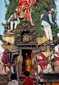 Rato Machendranath festival. Patan, Nepal.