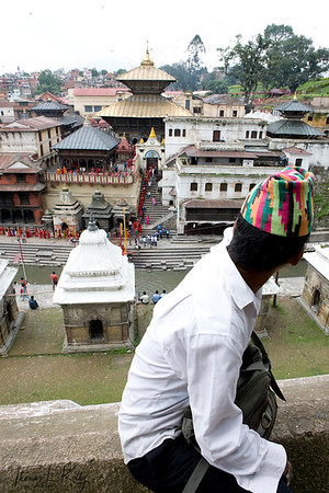 Pashupatinath Temple. Kathmandu, Nepal.