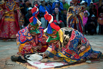 Tiji Festival in Lo Manthang, Mustang. Nepal