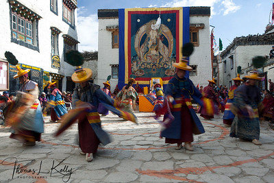 Tiji Festival in Lo Manthang, Mustang. Nepal.