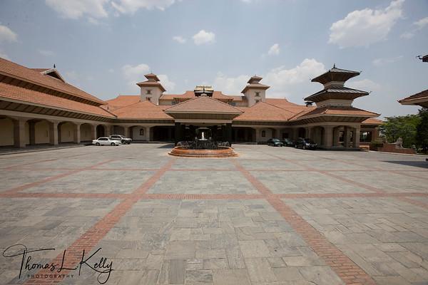 Hyatt Regency Hotel. Bouddha, Kathmandu, Nepal.