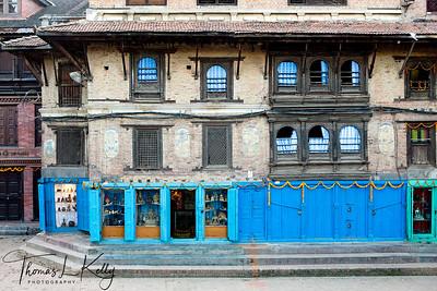 Parpas art, a brass souvenir shop in Patan. Nepal.
