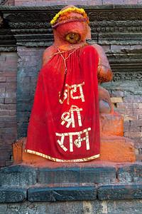 Hanuman, The Monkey God. Patan Durbar Square. Patan, Nepal.