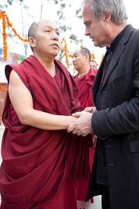 Trulshig Rimpoche's Kudung at Dzarong Thupten Mindrol Dongag Chhyoling Monastery. Sitapaila, Kathmandu, Nepal.
