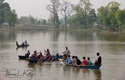 Gajedi Lake. Rupandehi, Nepal.