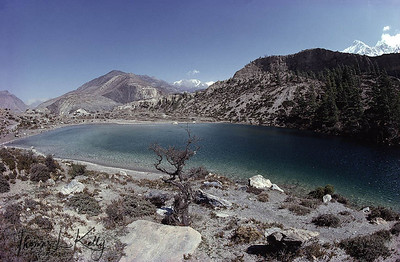Dakini Lake, Mustang, Nepal