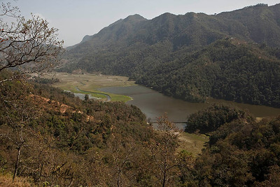 Rupa Lake. Pokhara, Nepal.