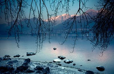 Fewa Lake, Pokhara, Nepal.