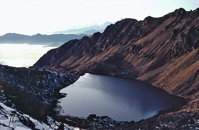 Gosaikunda lake, Rasuwa, Nepal.