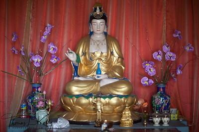 Chinese Monastery in Lumbini. Nepal.