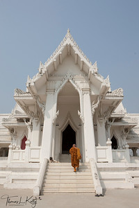 Royal Thai Monastery in Lumbini. Nepal.