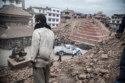 Massive Earthquake Rattled Nepal.