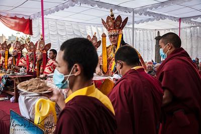 Cremation of Mustangi King
