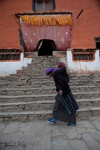 Lo Ghyekar Goempa. Mustang, Nepal.