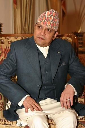 Ex-King Gyanendra Bir Bikram Shah Dev.