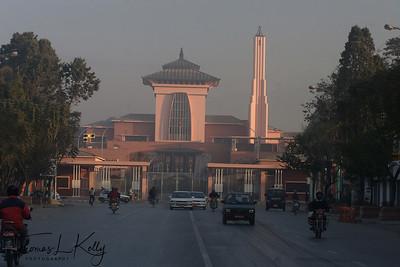 Narayanhiti Palace, where the Royal massacar took place on Friday, June 1, 2001.