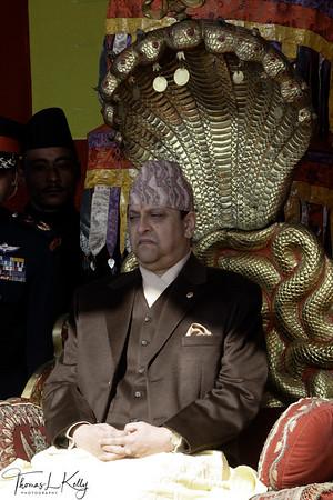 Prince Gyanendra crowned King.