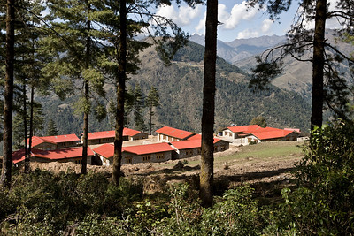 Houses in Solu, Nepal.