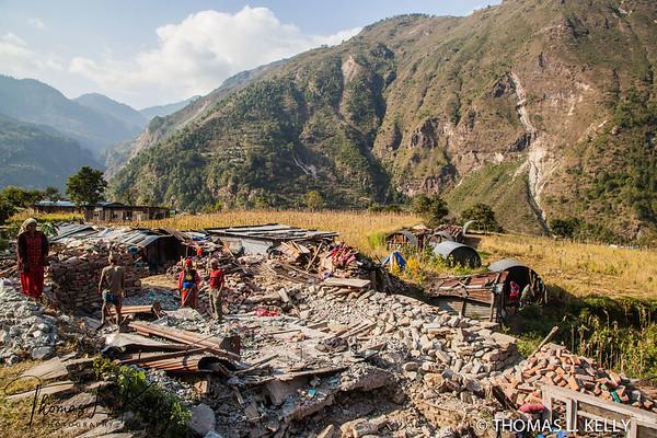 Rebuilding, Sindhupalchok.