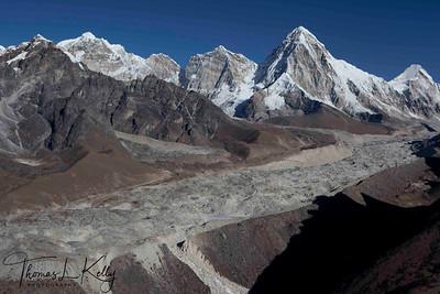 Mt.Pumori. Lukla, Nepal.