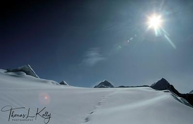 Imja Tse also called Island Peak. Everest region Nepal