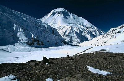 Imja Tse, better known as Island Peak, is a mountain in the Himalayas of eastern Nepal.