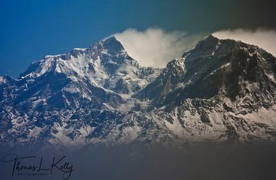 Mount Everest range.