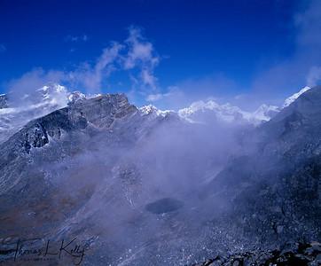 Lobuche Range, Everest Region, Nepal.