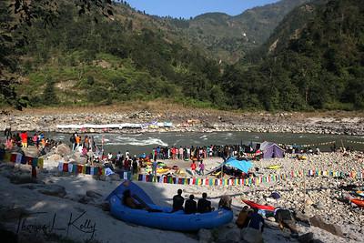 Himalayan Whitewater Challenge 2010 at Trisuli River, Nepal. Trisuli, Nepal.