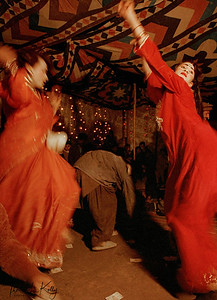 Hijras entertain at a wedding celebration. Qissa Khawani, or the Storyteller Bazaar, Peshawar, Pakistan.