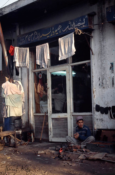 Fair complexioned Pathan and Afghan shoeshine boys are legion in Lahore. They flash their mascaraed eyes in hopes of attracting older male clients. The swarthier Punjabi men prefer these lighter skinned boys from the Northwest Frontier