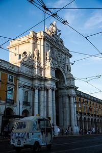 Triumphal Arch of Rua Augusta