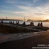 Sunset at Teju River