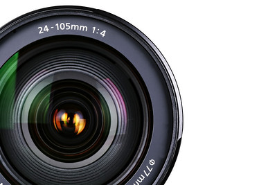 Camera Lens in focus