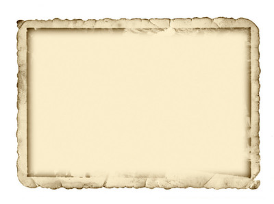 Antique photo border with space for your text or image