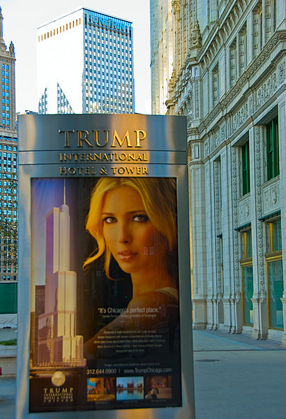 Trump Building, downtown Chicago