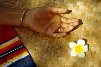 "Resting posture, known as ""shavassana"" after yoga practice. Ulpotha, Sri Lanka."