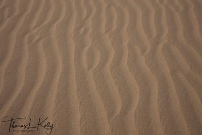 Sand bank of Lake Mansarovar.