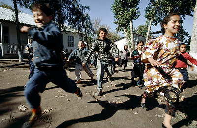 No matter what the circumstances is, children are always in a zealous mood. Kurgentubee, Tazikistan