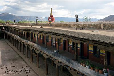 Samye Monastery, Tibet.