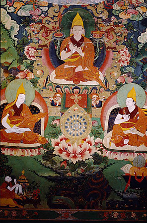 Tsongkhapa. (1357-1419) Great commentator of The Six Yogas of Naropa. Dream Yoga.-At night, strive to ivoke the self-purification of confused dreams.