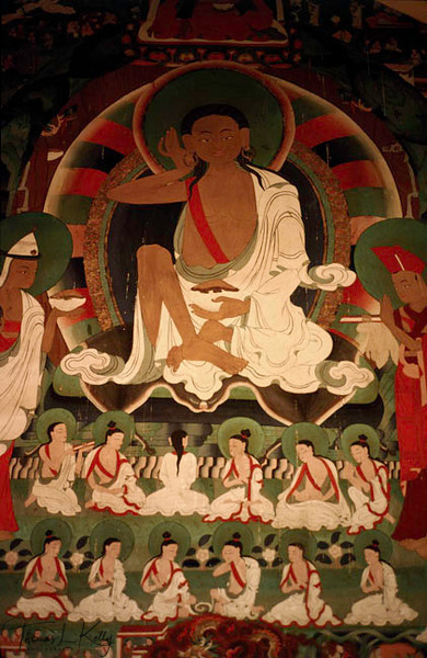 Milarepa. Tif. Saint Milarepa (AD 1040-1123): A singer of illuminating songs. The life of Milarepa was an epic of betrayal and vengence, repentance and enlightment.