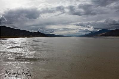 River Yarlung Tsangpo in Tibet.