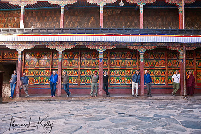 Tashi Lunpo Monastery in Shigatse. Tibet.